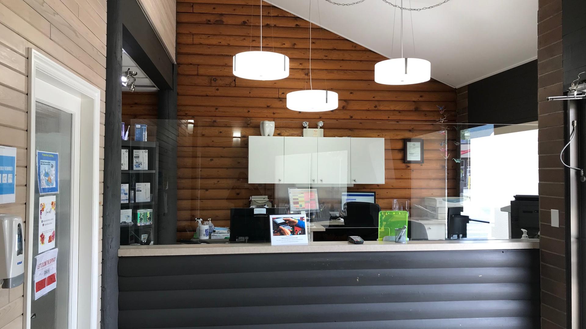 Monashee Dental Centre - Dr Paula Winsor-Lee - Lumby BC - Reception 23